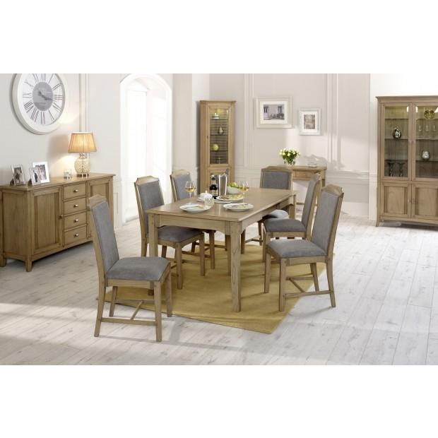 Melia Ash Exotic Wood Dining Furniture